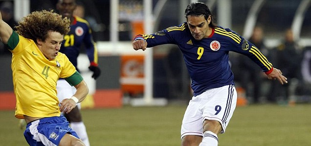 David Luiz, Radamel Falcao