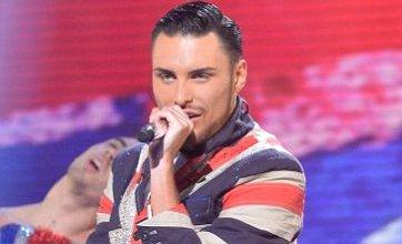 Rylan Clark reveals he'll be after a Gary Barlow duet if he makes X Factor final