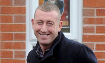 Christopher Maloney puts on a brave face following vile death threats