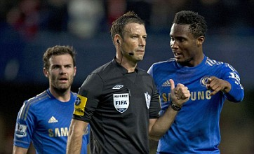 Referee Mark Clattenburg cleared by FA over Chelsea racism allegations