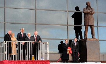 Manchester United manager Sir Alex Ferguson immortalised in 9ft statue