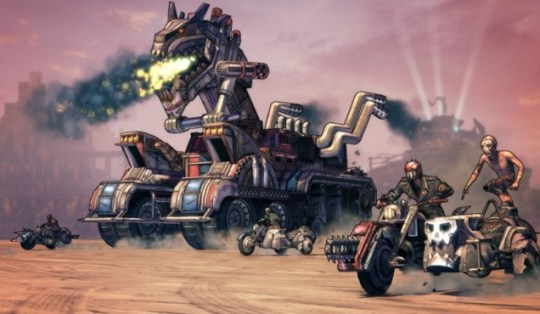 Mister Torgue's Campaign Of Carnage (360) – presenting the Badassaurus Rex, to give it its Latin name