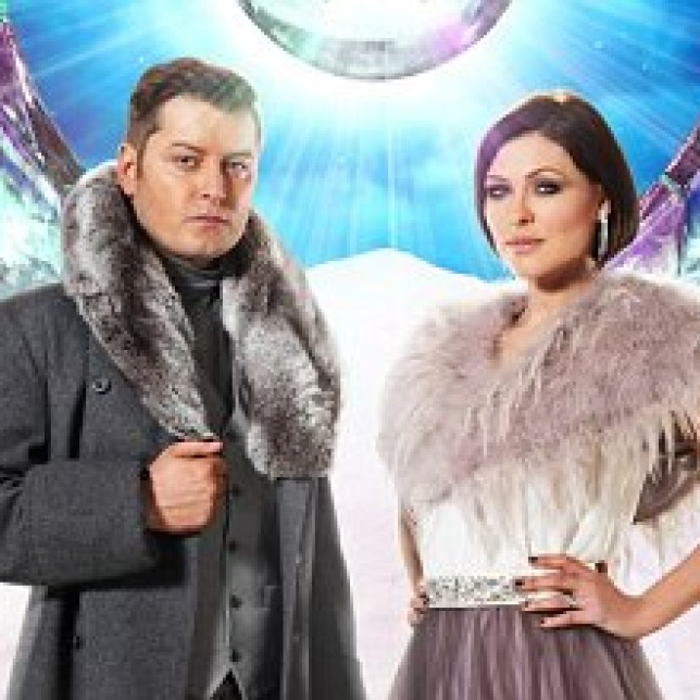 Brian Dowling and Emma Willis present CBB once again this year (Picture: Channel 5)