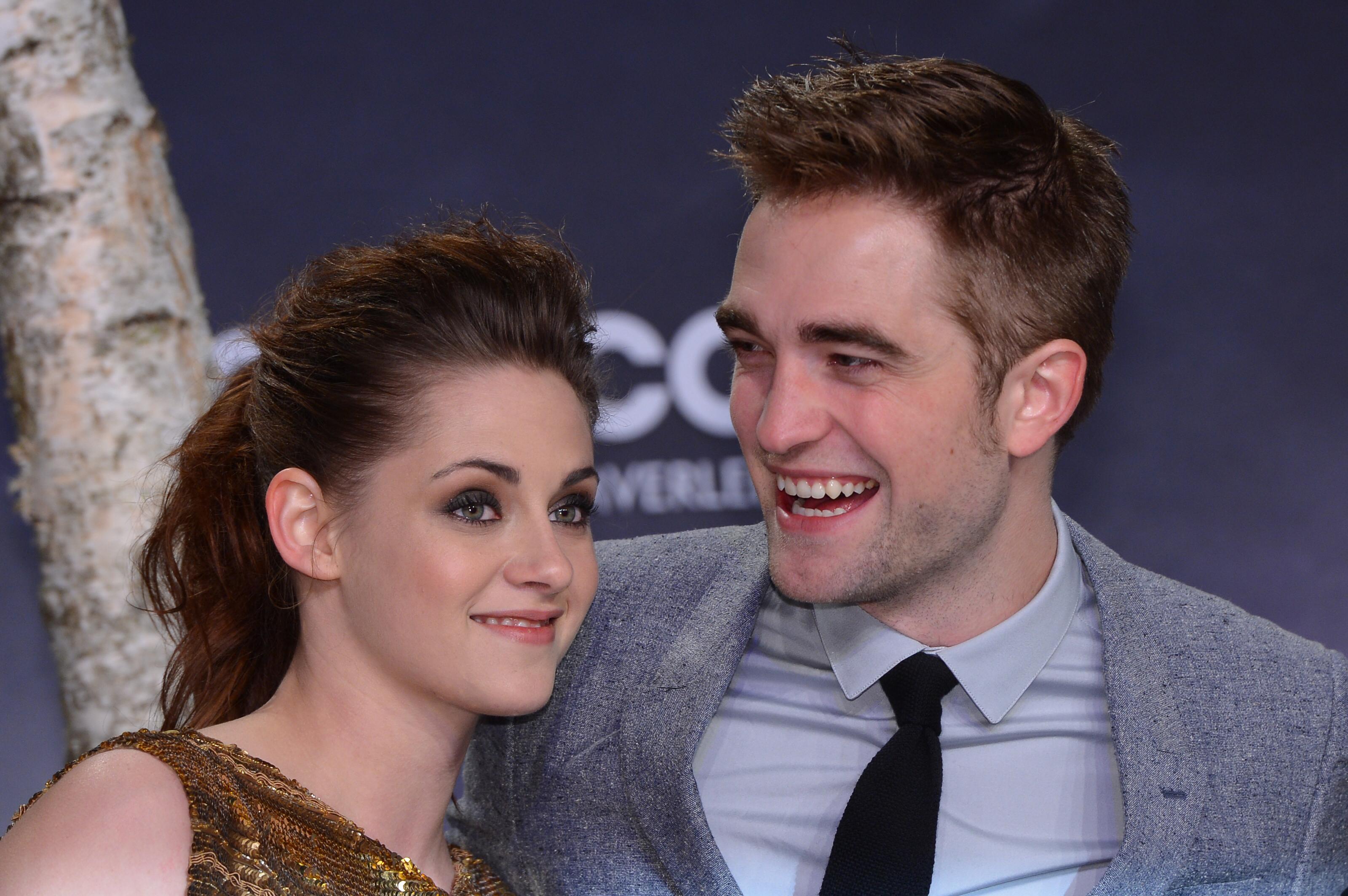 Robert Pattinson and Kristen Stewart at Twilight: Breaking Dawn Part 2 premiere