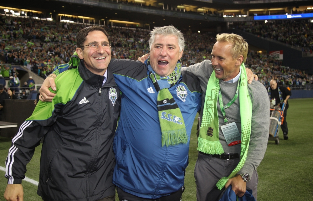 Seattle Sounders fans decide to let general manager Adrian Hanauer keep his job