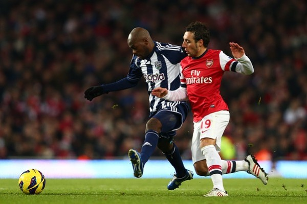 Fans unite in fury after Santi Cazorla dives to win Arsenal a penalty against West Brom