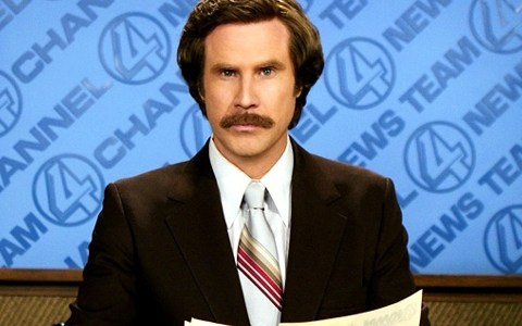 Anchorman 2 cast performs Afternoon Delight, somehow no one dies of awesomeness