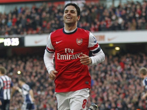 Mikel Arteta defends Arsenal team-mate Santi Cazorla in West Brom 'dive' row