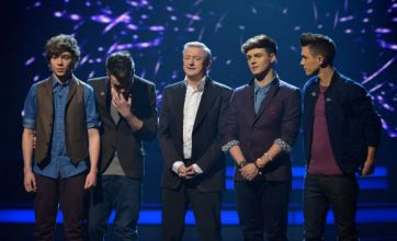 Union J's X Factor dream is over as boyband is booted off the semi-finals