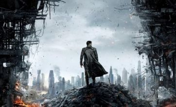 Star Trek Into Darkness poster shows London in ruins
