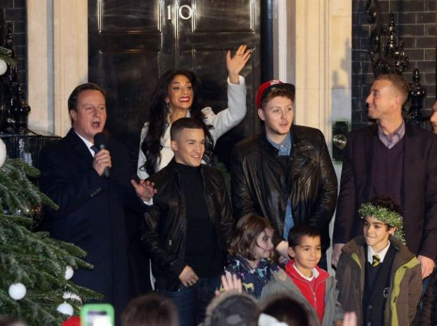 David Cameron, Nicole Scherzinger, James Arthur, Jahmene Douglas, Christopher Maloney