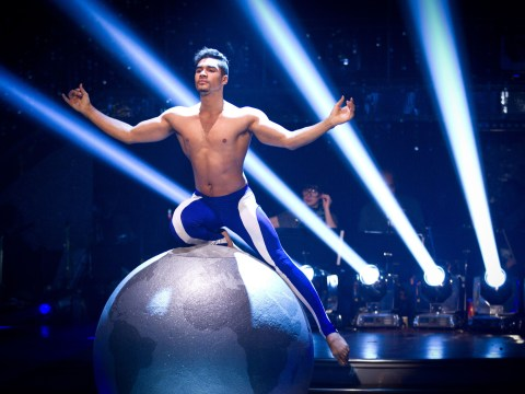 Louis Smith wins full marks for topless showdance in Strictly Come Dancing final