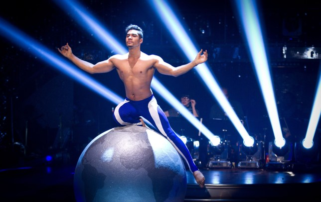 Strictly Come Dancing final Louis Smith