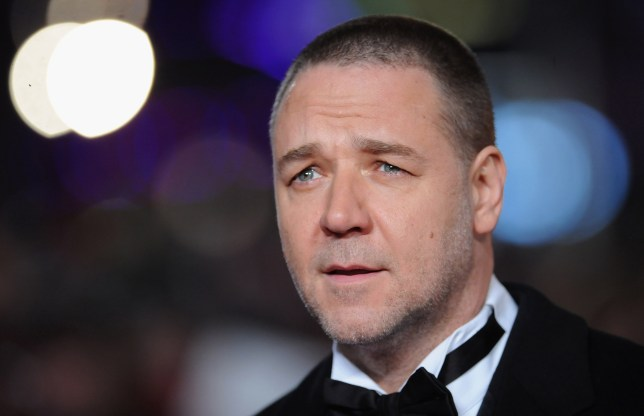 Russell Crowe attends the Les Miserables World Premiere (Getty Images)