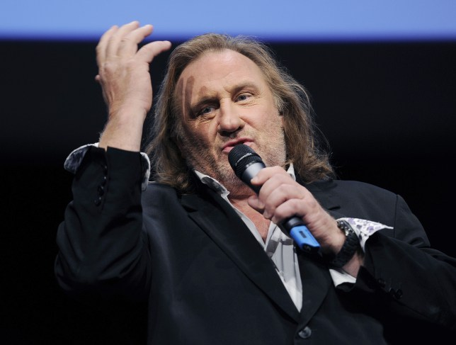Gerard Depardieu has moved to Belgium to avoid Hollande's new 75 per cent tax (Picture: AFP)