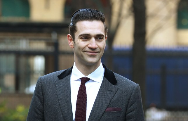 Reg Traviss insists the sex was consensual (Picture: PA)