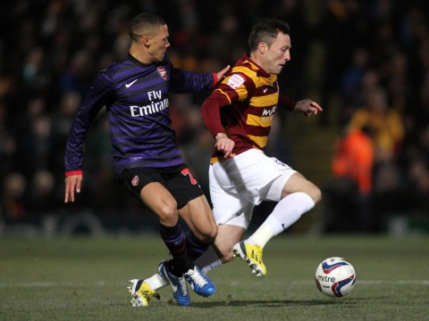 Bradford City v Arsenal Capital One Cup quarter-final – 11 December 2012