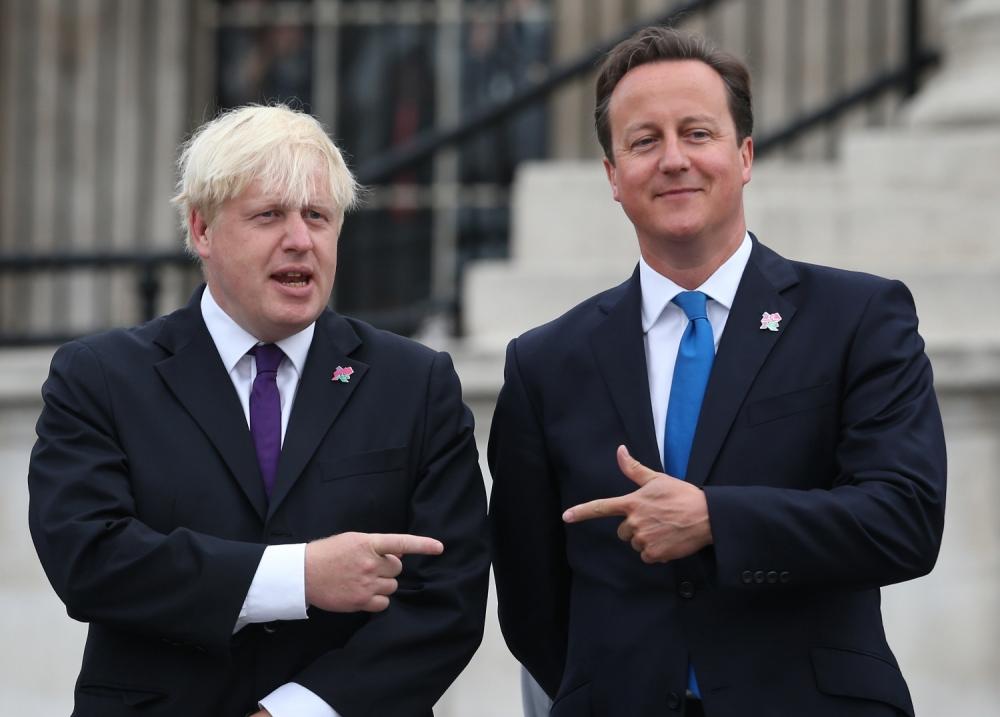 Boris Johnson, David Cameron, EU, Starbucks