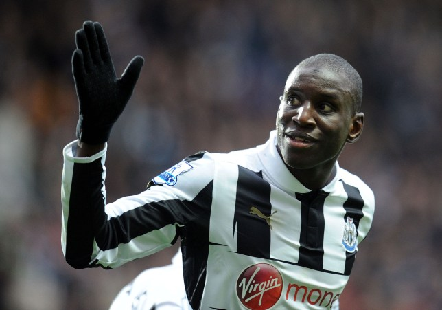 Demba Ba could be waving goodbye to St James' Park in January (Picture: PA)