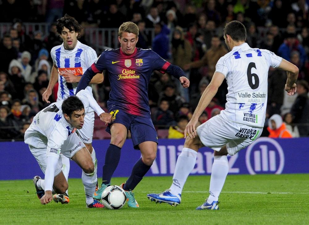 Manchester City hoping to strike deal for Barcelona starlet Gerard Deulofeu