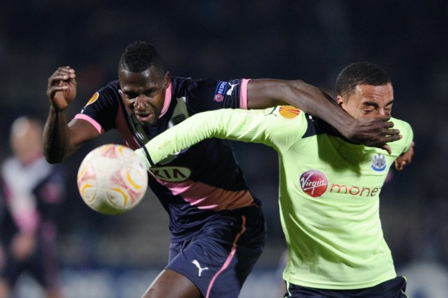 Newcastle's youngsters fell to a 2-0 defeat in Bordeaux (Picture: AFP)