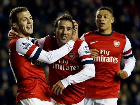 Arsenal hammer Reading to ease pressure on Arsene Wenger