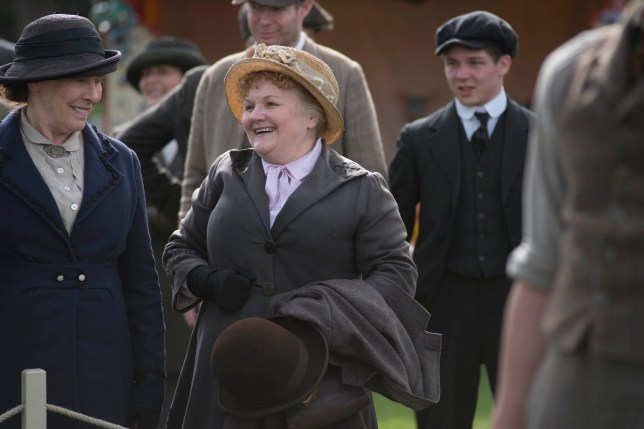 Mrs Patmore is to get her own sub-plot in the Downton Abbey Christmas special (Picture: ITV)