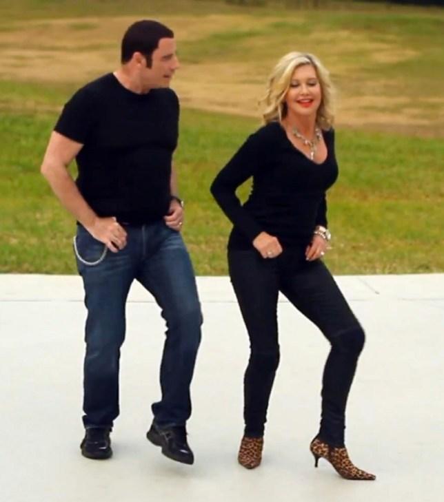 John Travolta, Olivia Newton-John,