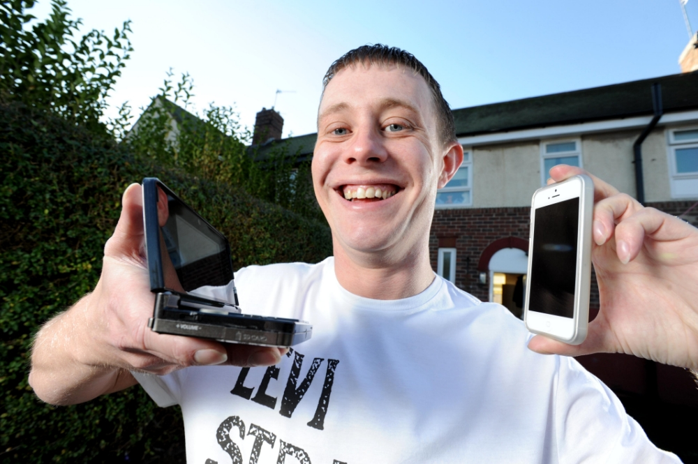 Sean Marsters has made over £300 by selling old mobile phones