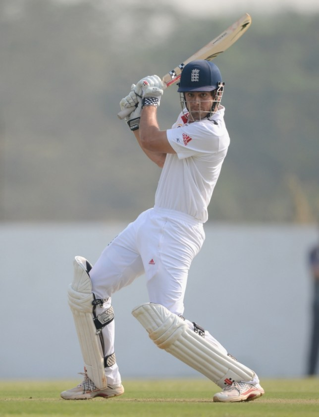 Alastair Cook has guided England to two Test victories in India (Picture: Getty)