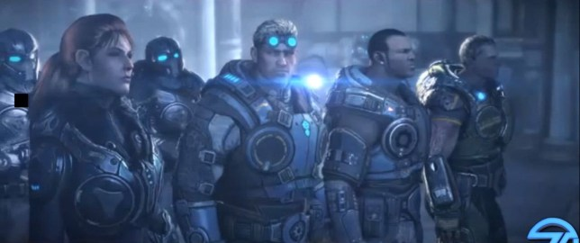 Gears Of War: Judgment – yep, that looks like Gears Of War all right