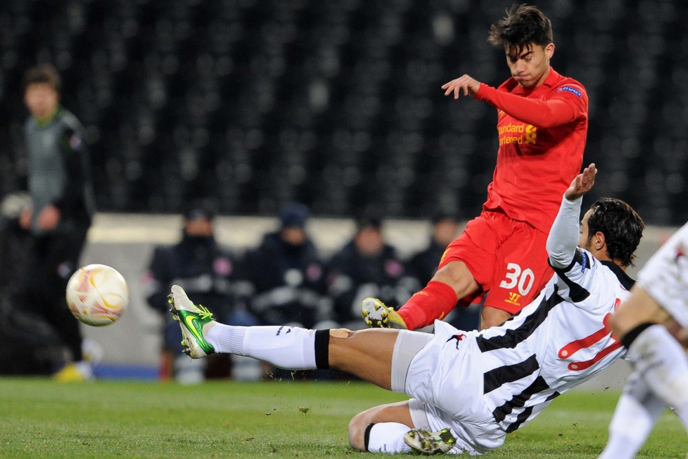 Liverpool forward Suso has been fined £10,000 by the Football Association (Picture: Getty)