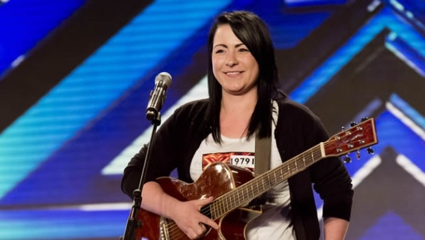Lucy was a hit when she first appeared on The X Factor, but had to leave the competition (Picture: ITV)