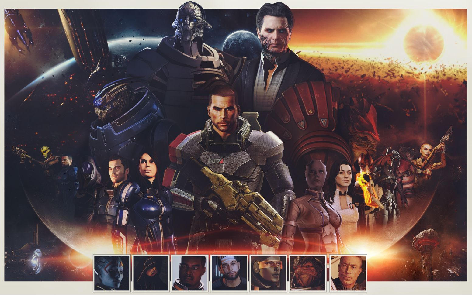 Mass Effect Trilogy – sci-fi and proud