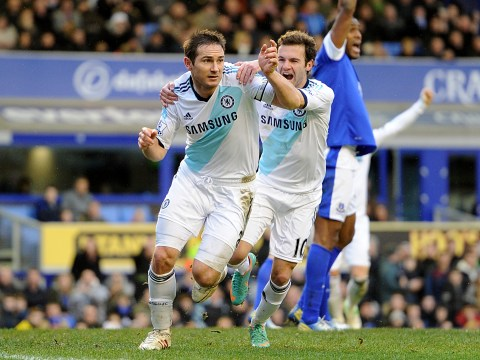 Frank Lampard brace gives Chelsea three points at Everton