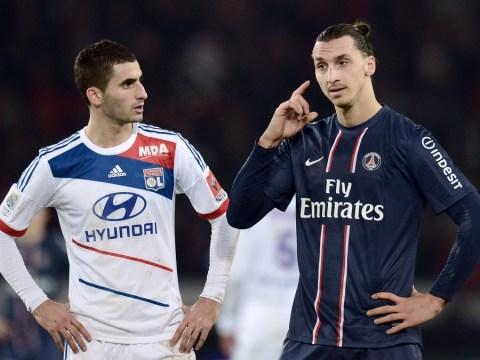 Zlatan Ibrahimovic accused of 'head stamp' on Lyon's Dejan Lovren