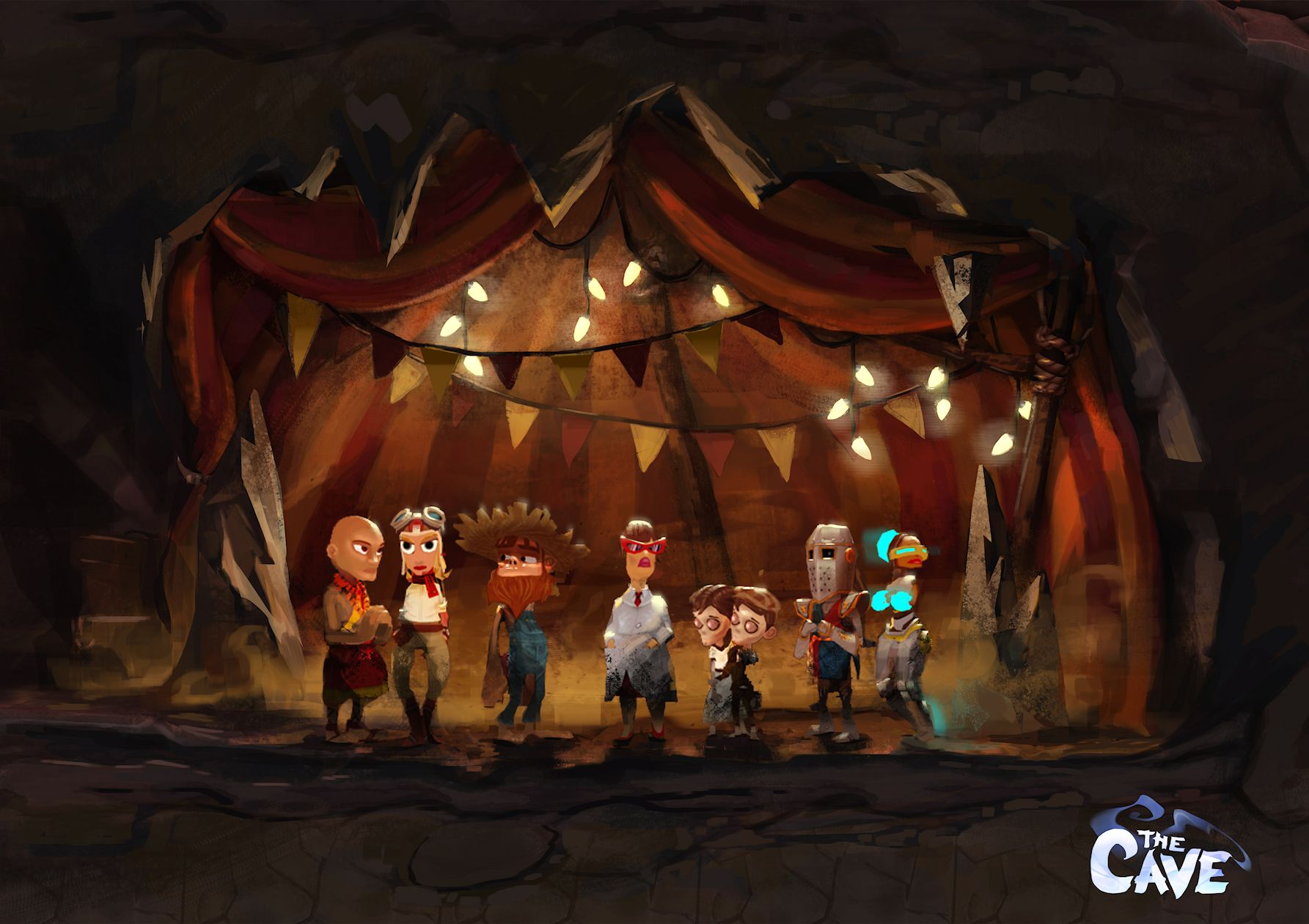 Ron Gilbert's The Cave preview – 'Monkey Island has to be a point 'n' click adventure game'