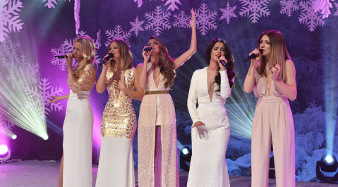 Girls Aloud sparkle on Top Of The Pops Christmas special