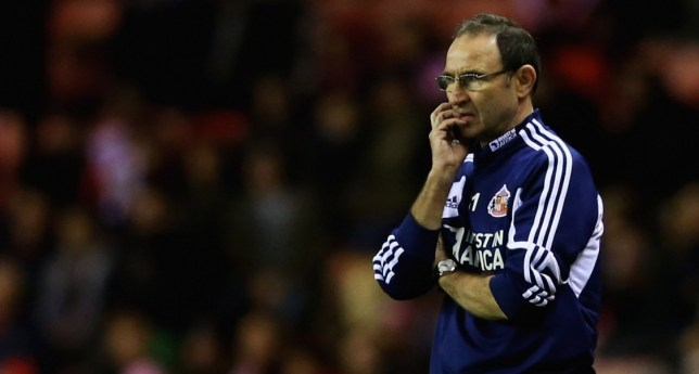 Martin O'Neill's Sunderland are struggling in the Premier League (Picture: Getty)