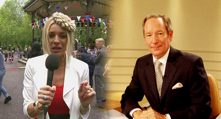 Michael Buerk blasts 'pneumatic bird-brain' Tess Daly as he hits out at BBC colleagues