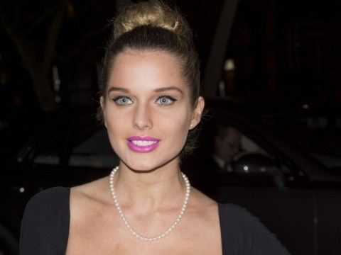 Helen Flanagan spills out of her dress at Military Awards