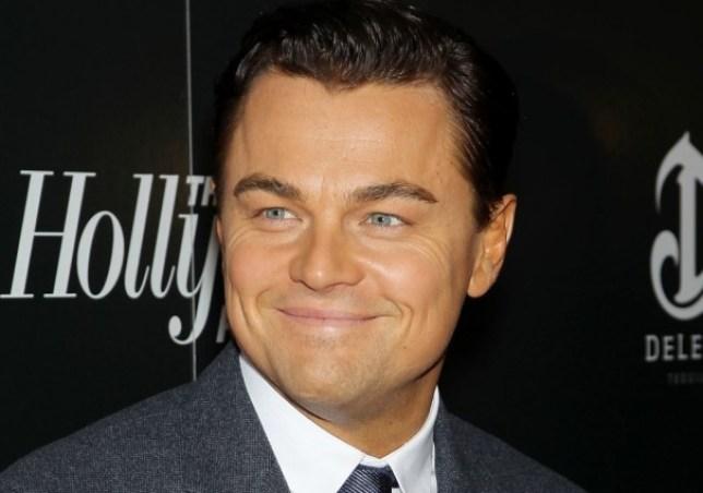 Leonardo DiCaprio came over all camera-shy at a Baftas bash