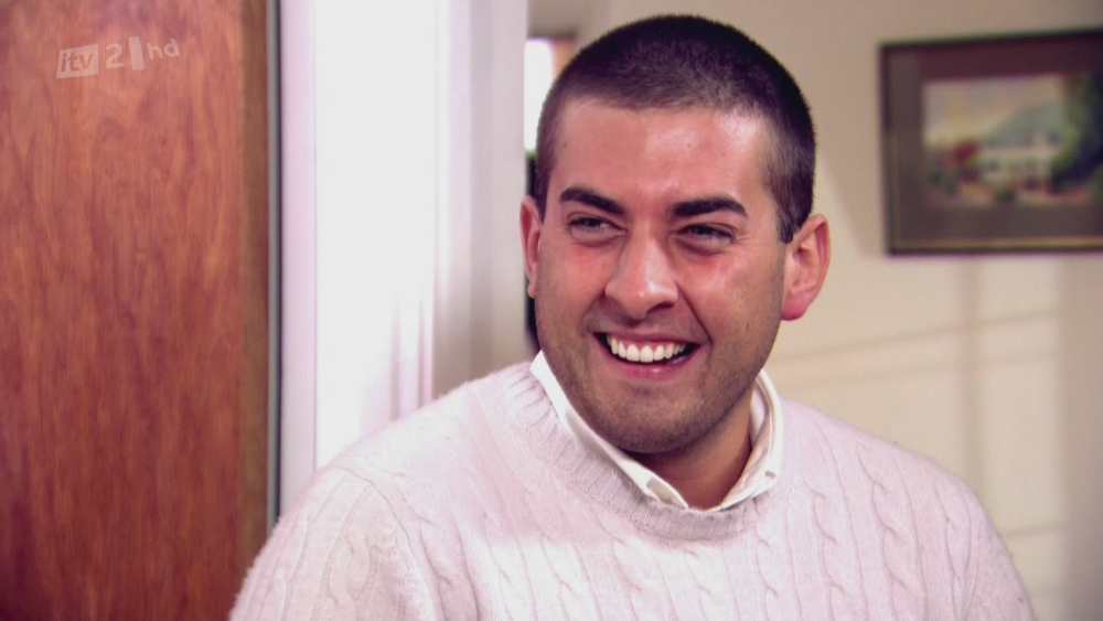 Arg says his split with Lydia made for a difficult time on the show (Picture: ITV)