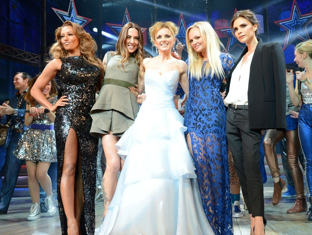 Spice Girls crowned Metro's Celebrity Of The Year
