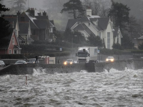 Christmas arrives with a splash as severe floods hit