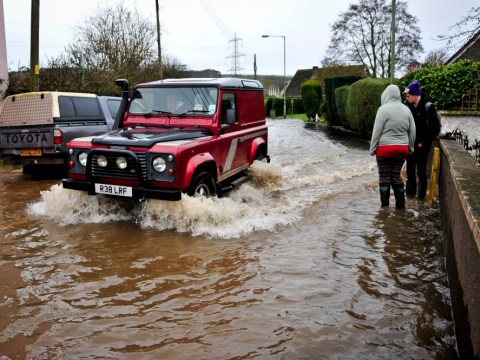 Flood risk remains as Christmas travel nightmare goes on