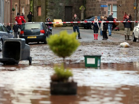 Christmas Day deluge for flooded areas