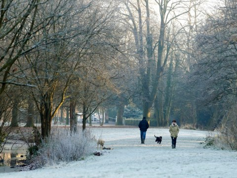 Winter weather December 11th 2012