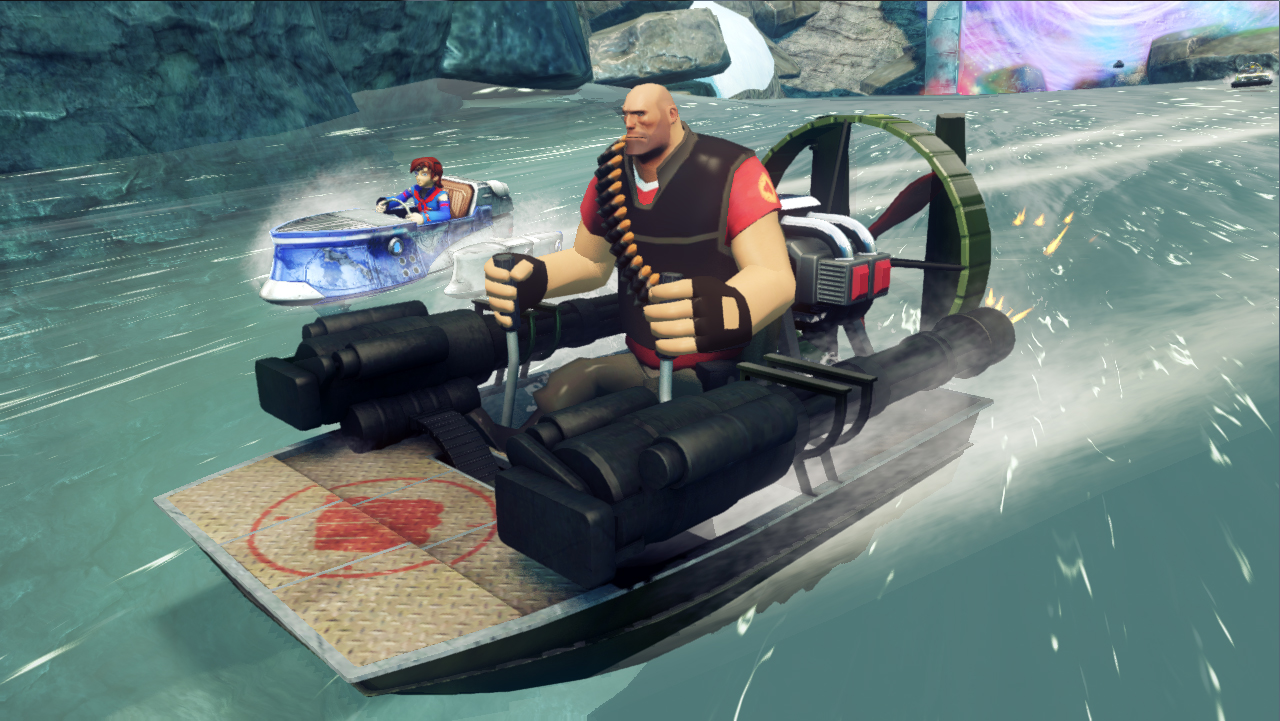 Sonic & All-Stars Racing Transformed gets Team Fortress 2 karts on PC