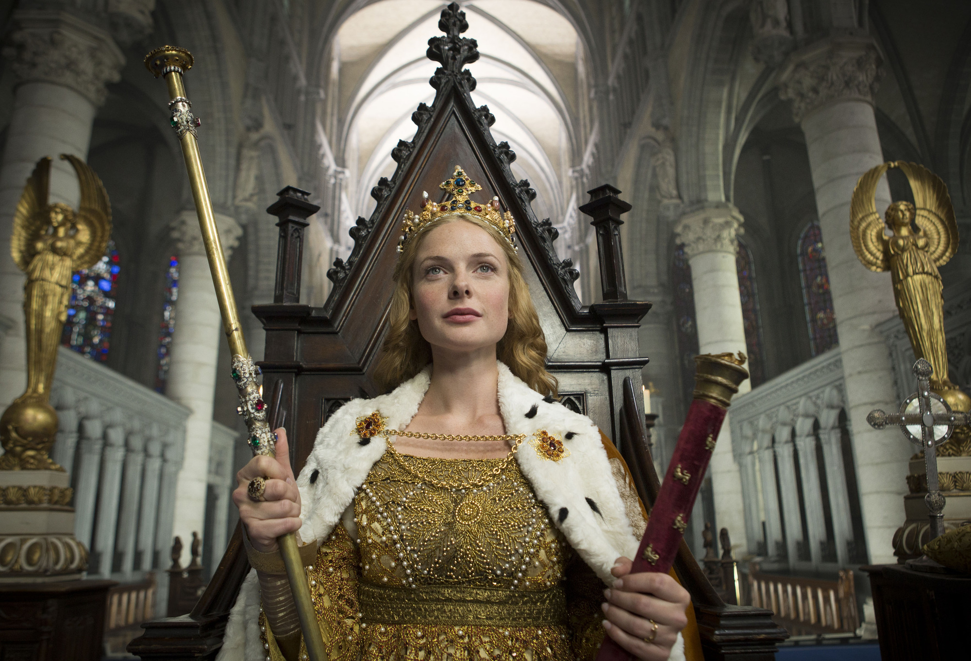 The White Queen star defends 'historically inaccurate' show